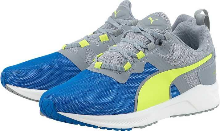Puma Running Shoes For Men - Buy Electric Blue Lemonade-Quarry ... ce231a978