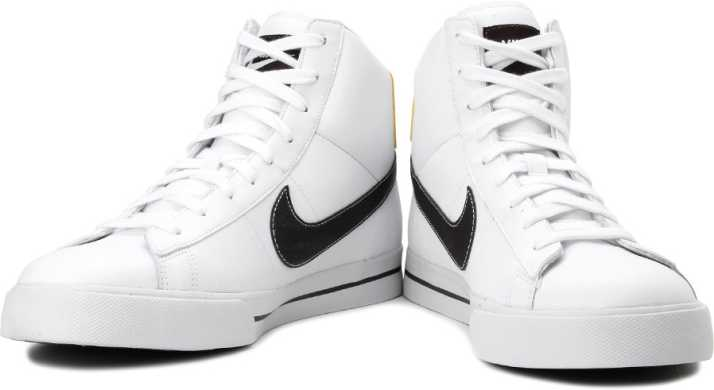 f8c13077f55b Nike Sweet Classic High High Ankle Sneakers For Women - Buy White Color Nike  Sweet Classic High High Ankle Sneakers For Women Online at Best Price -  Shop ...