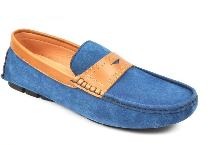 Toruzzi Designer Suede Loafers Driving