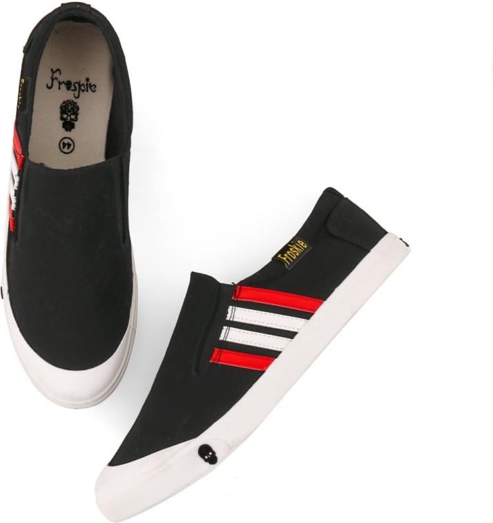 Froskie Sneakers For Men - Buy Black