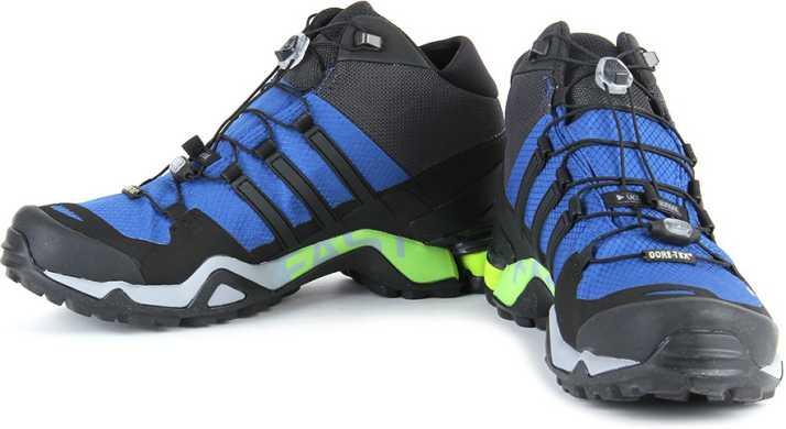 Adidas Men's Terrex Fast R Mid GTX Cblack and Ftwwht