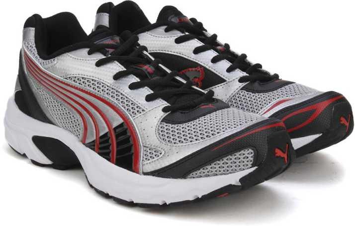 a231e56f961d44 Puma Exsis IDP Running Shoes For Men - Buy Puma Black-High Risk Red ...