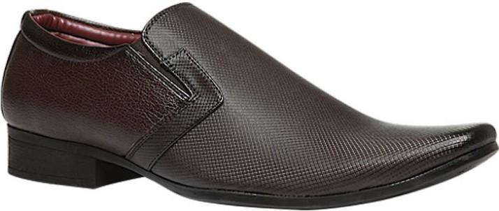 Bata Slip On Shoes For Men - Buy Brown