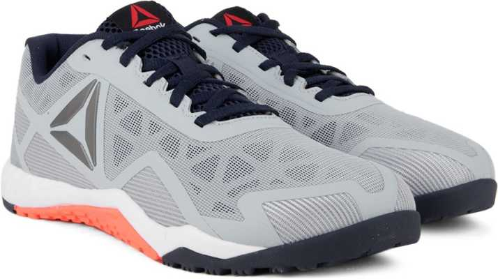 b90e8fc3cf5828 REEBOK ROS WORKOUT TR 2.0 Training Shoes For Men - Buy GRY NVY WHT ...