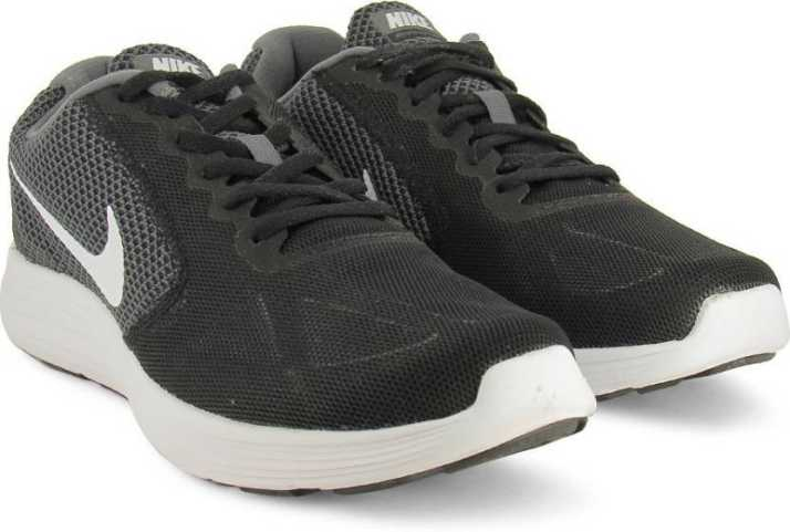 d89953de724f Nike REVOLUTION 3 Running Shoes For Men - Buy DARK GREY   WHITE ...