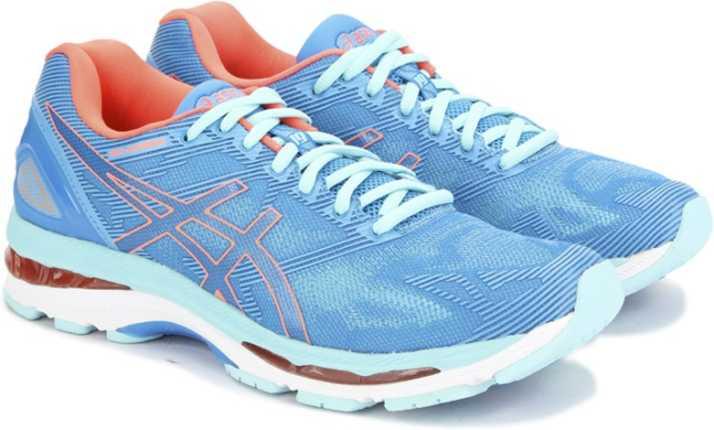 d543364524 Asics GEL-NIMBUS 19(2D) Sports Shoe For Women - Buy DIVA BLUE/FLASH  CORAL/AQUA SPLASH Color Asics GEL-NIMBUS 19(2D) Sports Shoe For Women Online  at Best ...