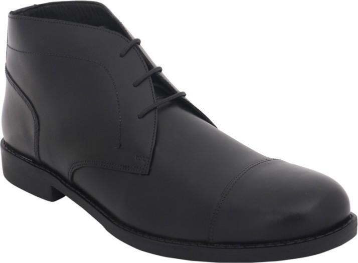 KAAS Lace Up For Men - Buy Black Color
