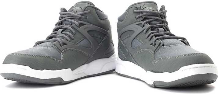 Abundante cualquier cosa Jardines  REEBOK Pump Omni Lite Cordura Basketball Shoes For Men - Buy Grey Color REEBOK  Pump Omni Lite Cordura Basketball Shoes For Men Online at Best Price - Shop  Online for Footwears in