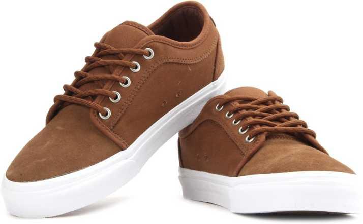 59c66e53647990 Vans Asher SS19 Sneakers For Men - Buy (Herringbonetwill) Tobacco ...