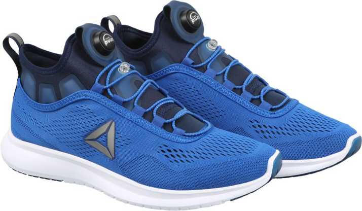 4a27097e9257 REEBOK PUMP PLUS TECH Running Shoes For Men - Buy AWESOME BLUE/NAVY ...