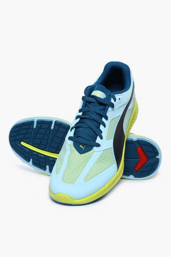 Puma Ignite Mesh Wn S Clearwater-Poseidon-Sulphur Spring Running Shoes For  Women