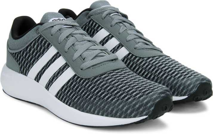 super popular 93df5 b63b5 ADIDAS NEO CLOUDFOAM RACE Sneakers For Men (Black, Grey, White)
