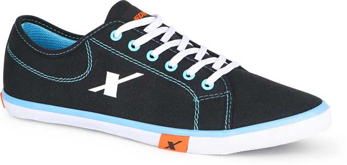 329453fee6 Sparx 283 Canvas Shoes For Men - Buy BlackSkyBlue Color Sparx 283 ...
