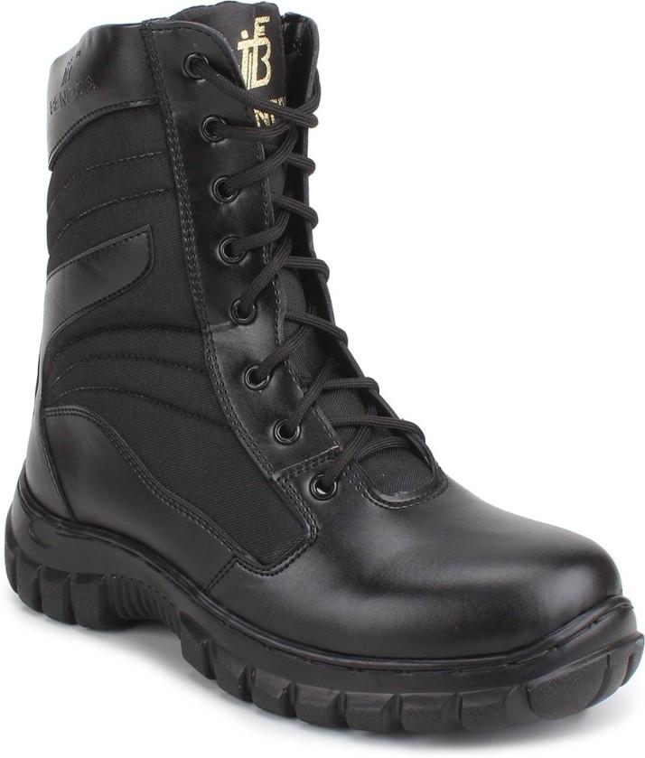 Benera Boots For Men - Buy Black Color