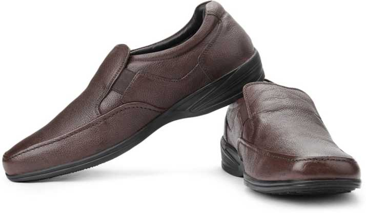 Hush Puppies By Bata Jungle II Slip On Shoes For Men