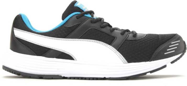 215360b5d687aa Puma Harbour DP Running Shoes For Men - Buy black-white-puma silver ...