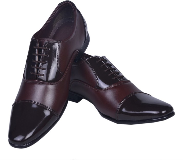 Azzaro Black Party Wear Shoes For Men