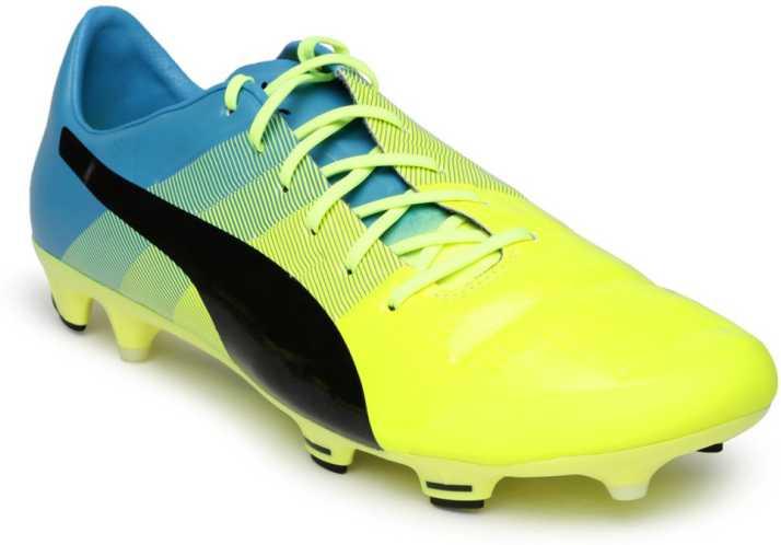 Puma Football Shoes For Men - Buy Yellow Color Puma Football ...