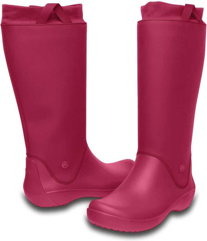 wyglądają dobrze wyprzedaż buty wysoka moda jakość Crocs Boots For Women - Buy 12424-675 Color Crocs Boots ...