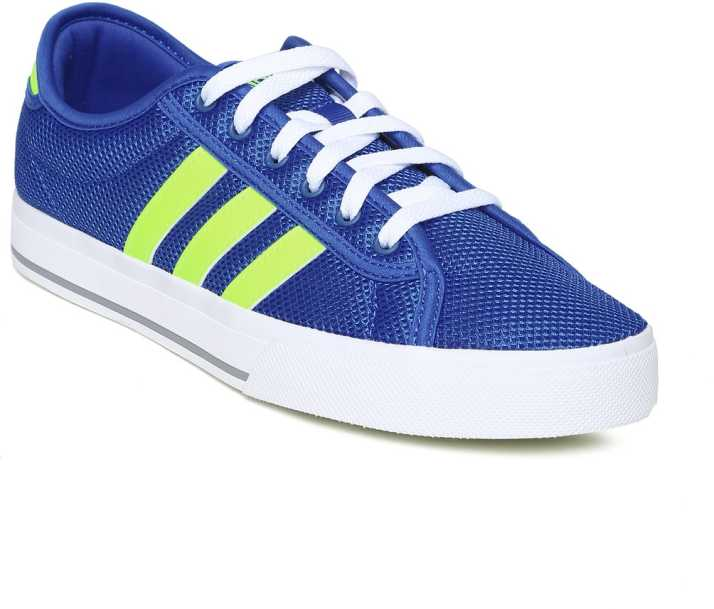 Smart Schuhe | Damen | Adidas Neo Low Stripe Rot Blau