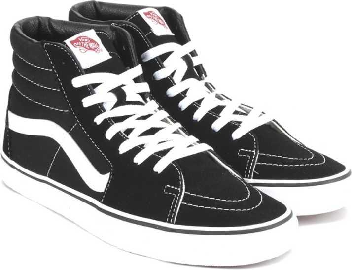 164cda6436 Vans SK8-HI High Ankle Sneakers For Men - Buy BLACK Color Vans SK8 ...