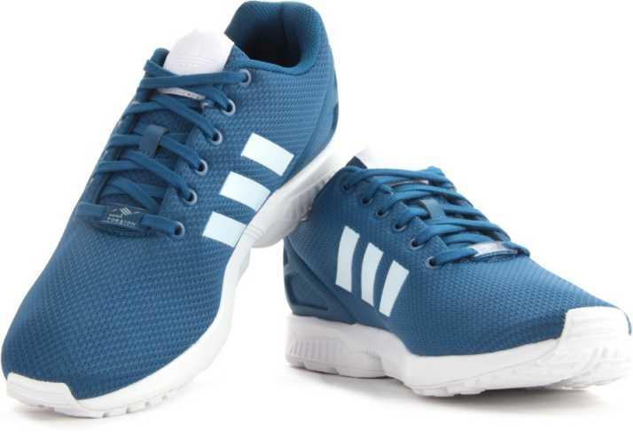 1965c298fef1b ADIDAS ORIGINALS ZX FLUX Men Sneakers For Men - Buy Blue Color ADIDAS  ORIGINALS ZX FLUX Men Sneakers For Men Online at Best Price - Shop Online  for ...
