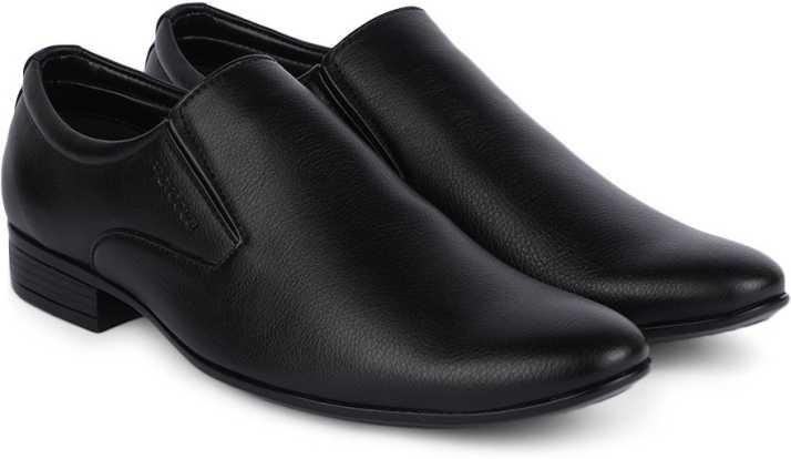 eb0444db83b Provogue Slip On For Men - Buy BLACK Color Provogue Slip On For Men ...