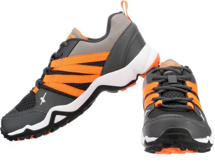 quality design edc6f b3274 Sparx Running Shoes For Men (Grey, Orange). Special price