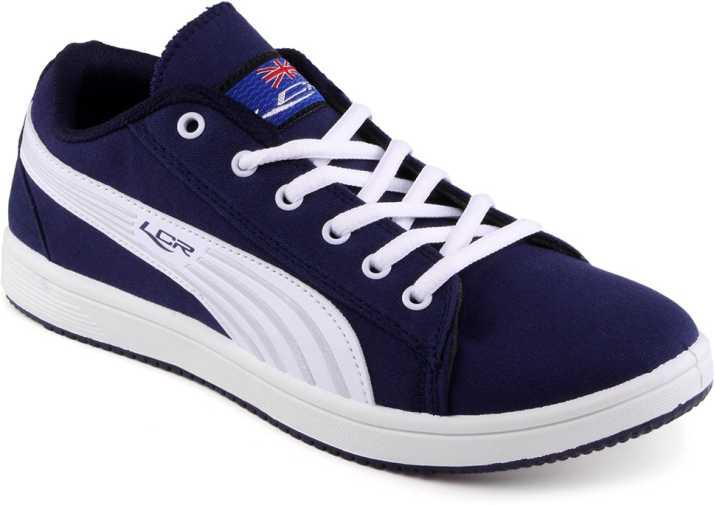 d9991a6cb0 Lancer Navy Blue White Casual Shoes For Men - Buy Navy Blue Color ...