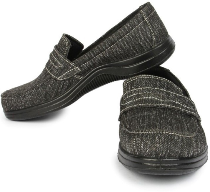 Liberty 3070-102-Black Casual Shoes