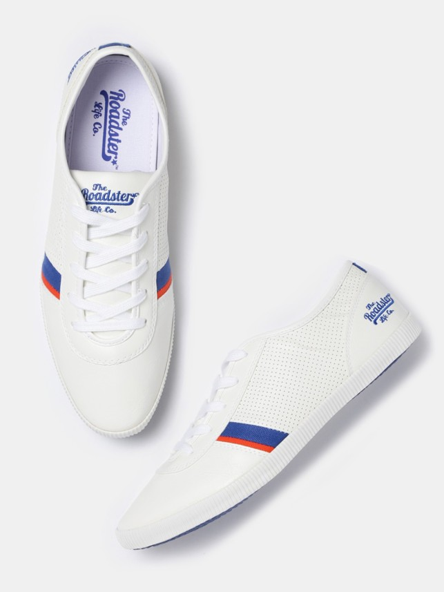 roadster sneakers white