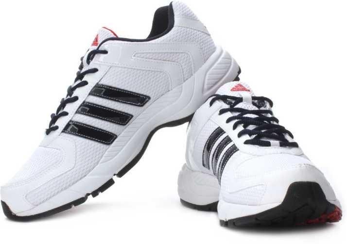 adidas running shoes mens white