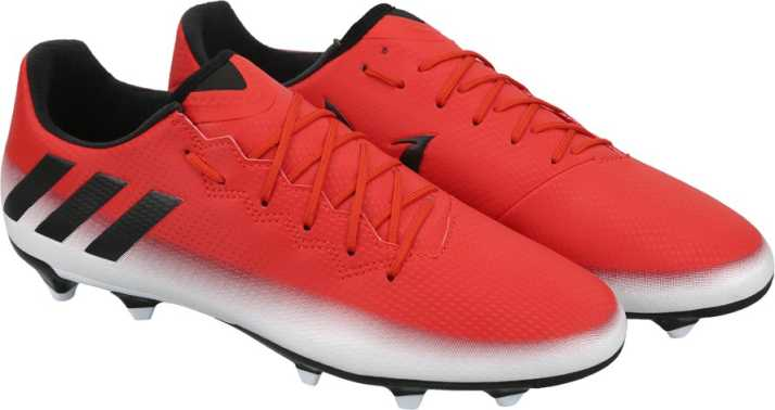 33fea5d259d ADIDAS MESSI 16.3 FG Football Shoes For Men - Buy RED CBLACK FTWWHT ...