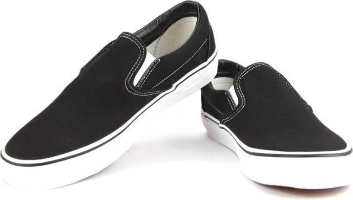 3ada665b240b23 Vans Classic Slip-On SS19 Loafers For Men - Buy Black Color Vans ...