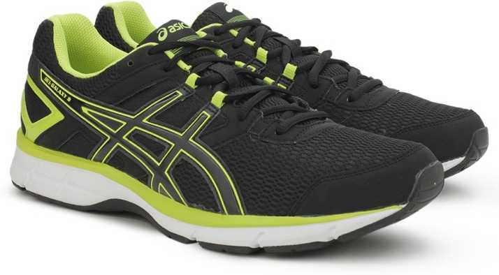 immagine bene Mordrin  Asics GEL-GALAXY 8 Running Shoes For Men - Buy BLACK/ONYX/FLASH YELLOW  Color Asics GEL-GALAXY 8 Running Shoes For Men Online at Best Price - Shop  Online for Footwears in India   Flipkart.com