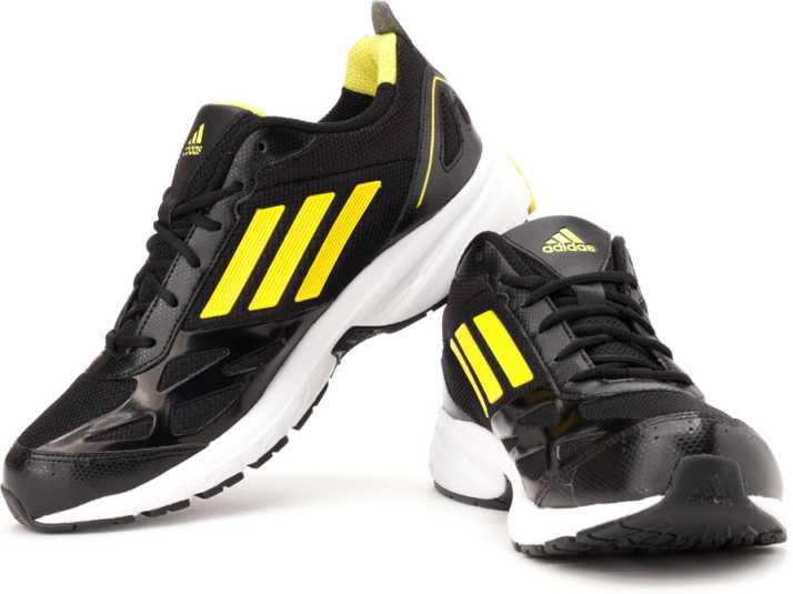 ADIDAS Zeta Running Shoes For Men - Buy Black, Yellow Color ADIDAS ...