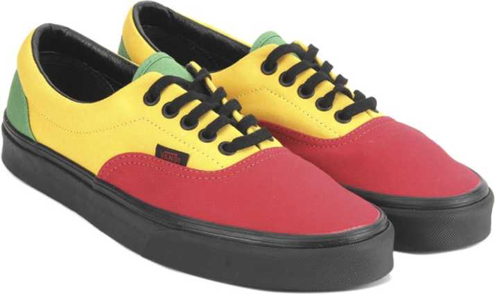 2c4be5beaee Vans Era Sneakers For Men - Buy (Rasta) red black Color Vans Era ...