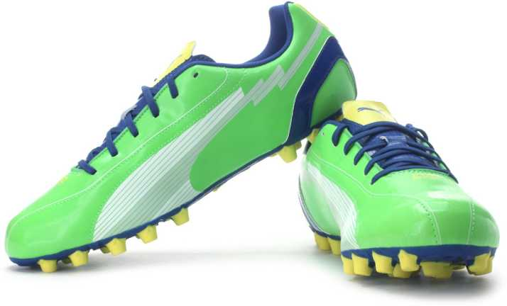 Puma evoSPEED 5 AG Football Shoes For Men - Buy Jasmine Green c3b10d71ecea2