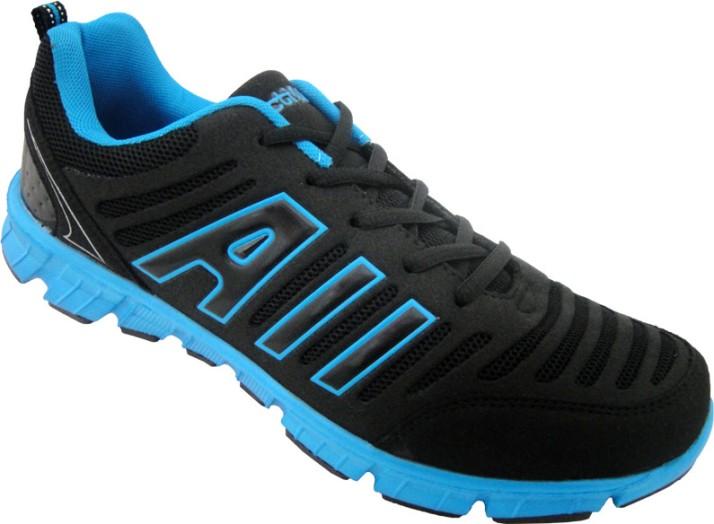 Black Sports Shoe Running Shoes For Men