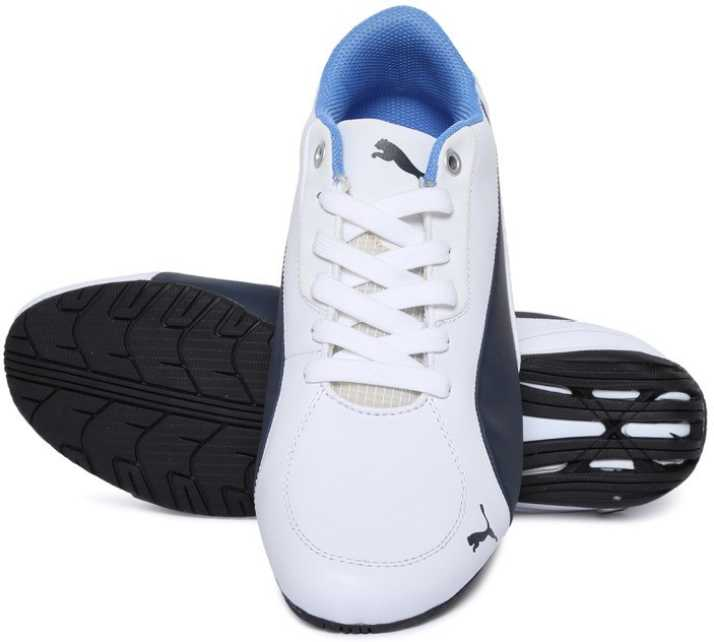 Puma BMW MS Drift Cat 5 NM 2 Riding Shoes For Men - Buy White Color ... d1e30e4b0