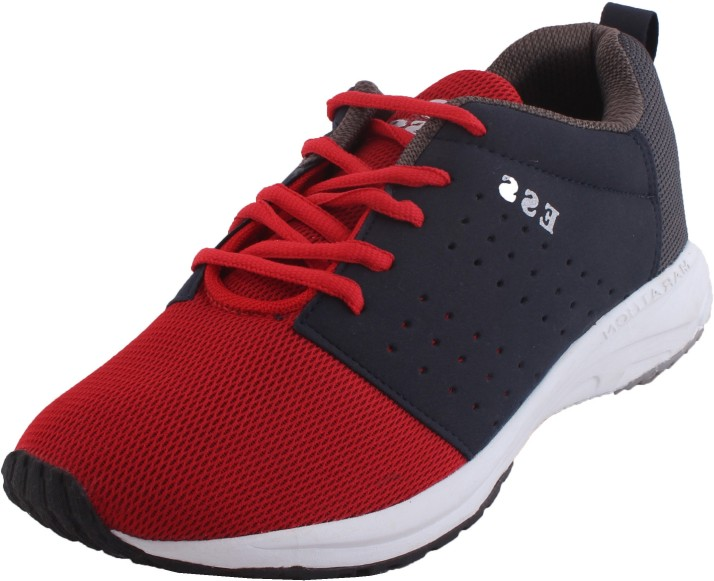 ESS Running Shoes For Men - Buy Red