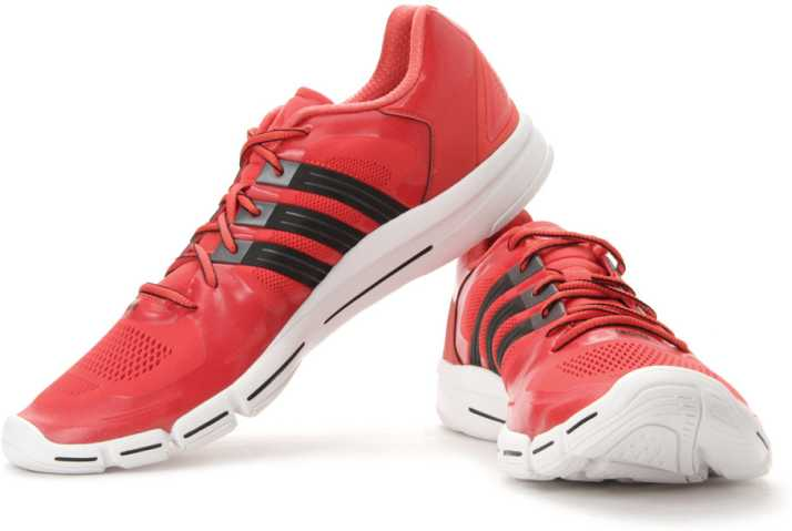 save off 02207 b0c49 ADIDAS Adipure 360.2 M Training Shoes For Men (Grey, White, Red)