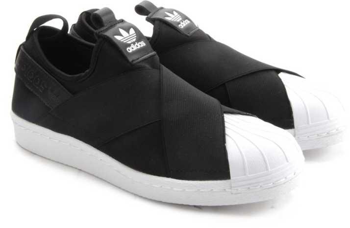 fregar Noble fibra  ADIDAS SUPERSTAR SLIP ON W Sneakers For Women - Buy Black Color ADIDAS  SUPERSTAR SLIP ON W Sneakers For Women Online at Best Price - Shop Online  for Footwears in India   Flipkart.com