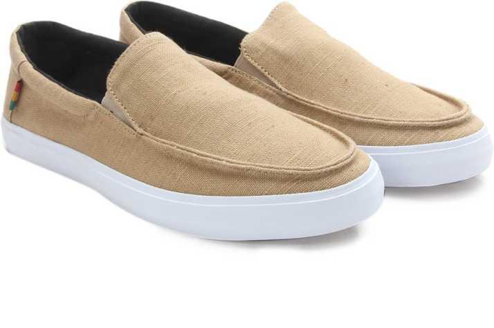 92e3db8f92 Vans BALI SF Men Loafers For Men - Buy (Hemp) khaki rasta Color Vans ...