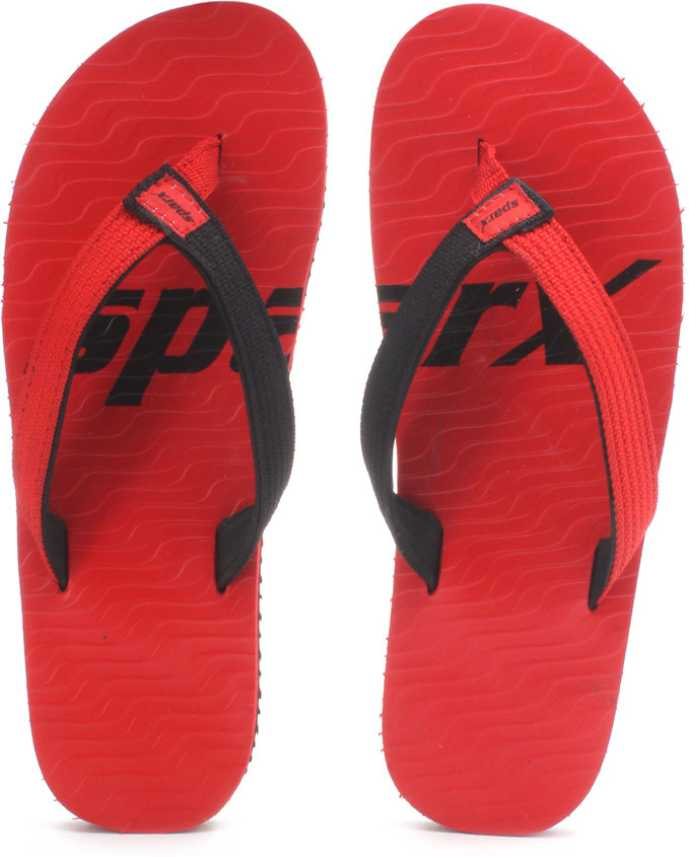 82181de360fe Sparx SFG-204 Slippers - Buy Red Black Color Sparx SFG-204 Slippers Online  at Best Price - Shop Online for Footwears in India