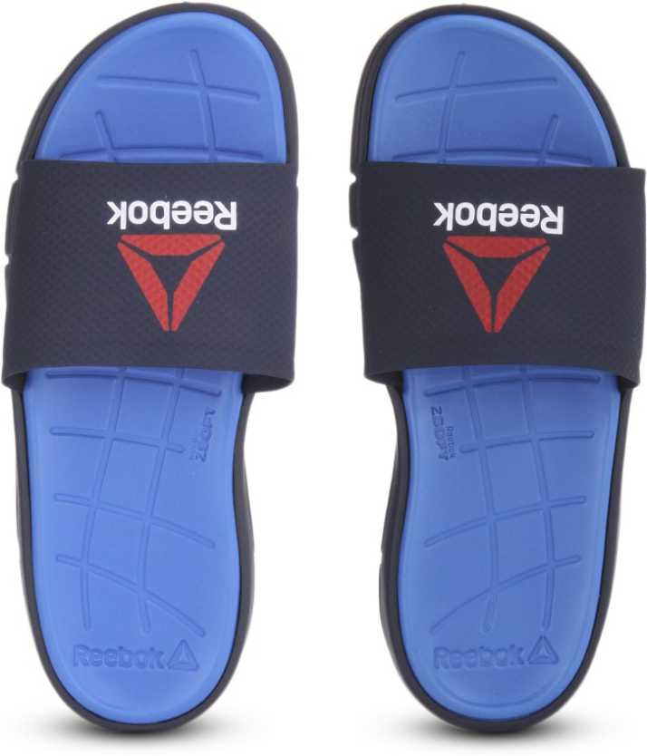 dac904e1d55dfb REEBOK ZPRINT SLIDE Slippers - Buy BLUE SPORT COLLEGIATE NAV Color REEBOK  ZPRINT SLIDE Slippers Online at Best Price - Shop Online for Footwears in  India ...