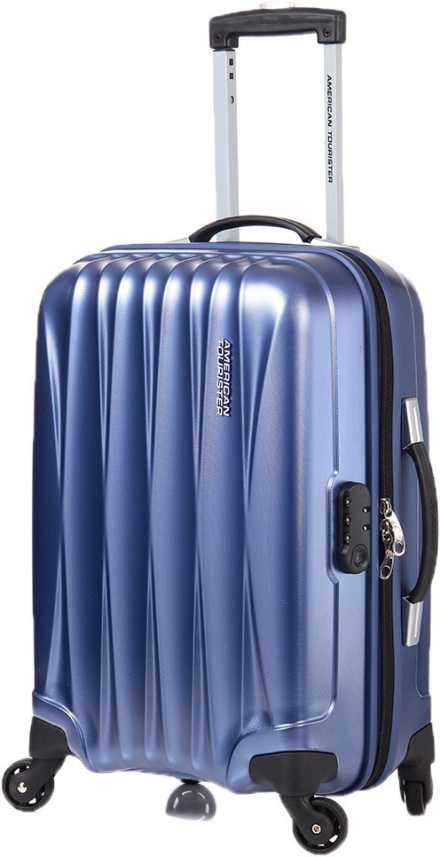 American Tourister Arona + SP Cabin Luggage - 21 inch Midnight Blue ... 8fdfe20356ac