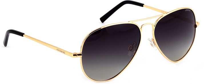 Buy Polaroid Aviator Sunglasses Black ff1733f98ab
