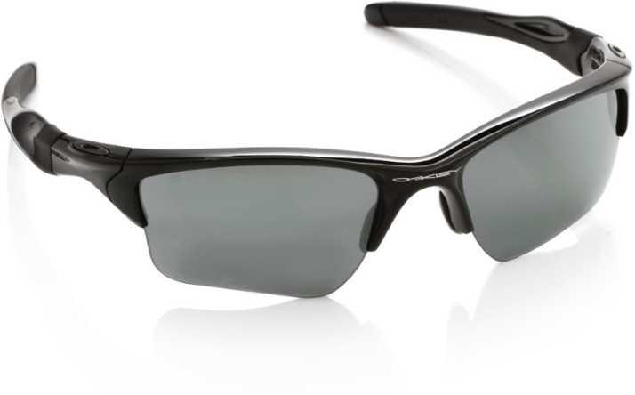 7eb142d86c Buy Oakley HALF JACKET 2.0 XL Round Sunglass Grey For Men Online ...