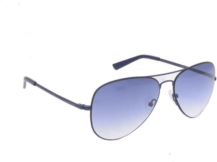 f272463f53b Buy X-Ford Aviator Sunglasses Blue For Men   Women Online   Best ...
